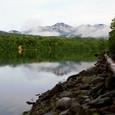 糠平湖風景